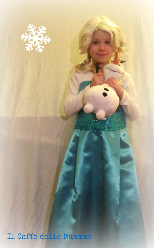 Tendenza Melodrammatico Discriminazione  Costume di Elsa Frozen fai da te