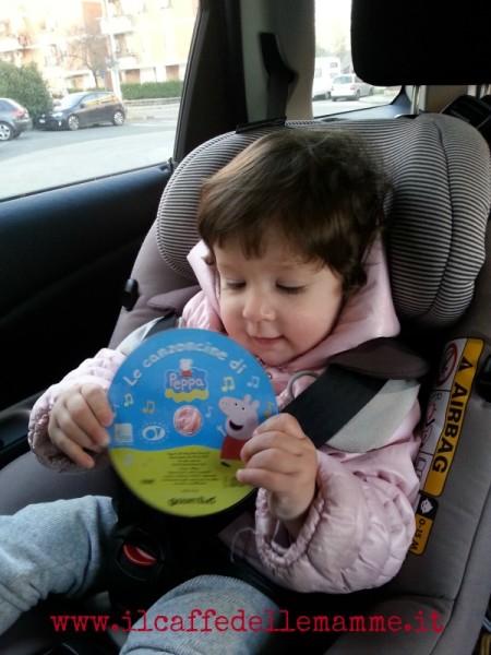 In auto con i bambini