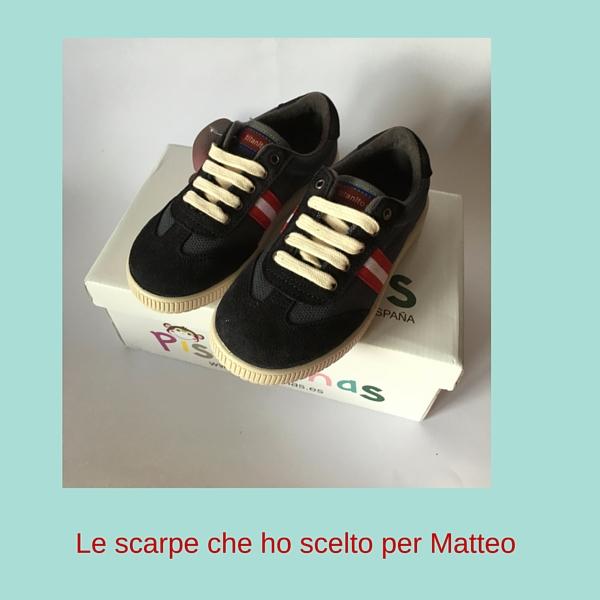 Comprare scarpe originali on line - Le scarpe che ho scelto per Matteo
