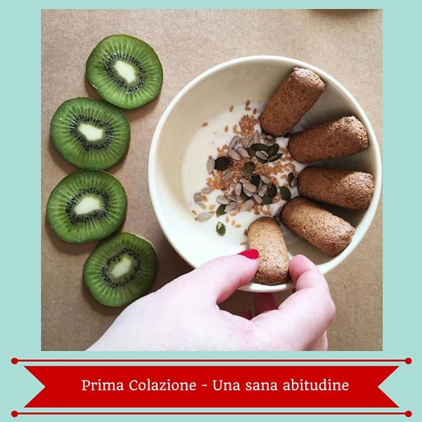 Prima colazione una sana abitudine