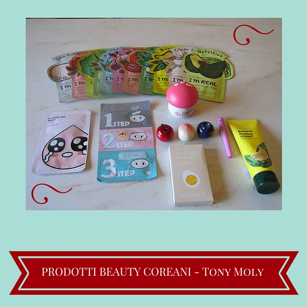 Prodotti Beauty Coreani - Tony Moly