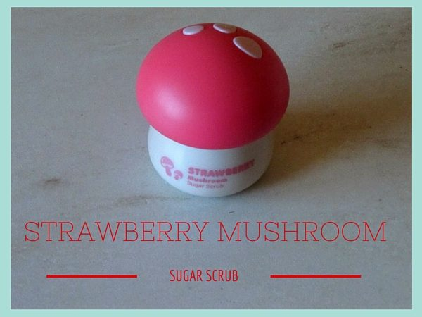 Strawberry Mushroom Sugar Scrub